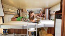 Das elektrische Hubbett ist eher für Kinder geeignet.