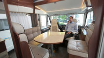 Dauertest: Eura Mobil, Sitzgruppe