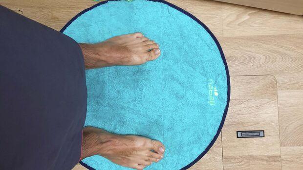 Decathlon Fußhandtuch