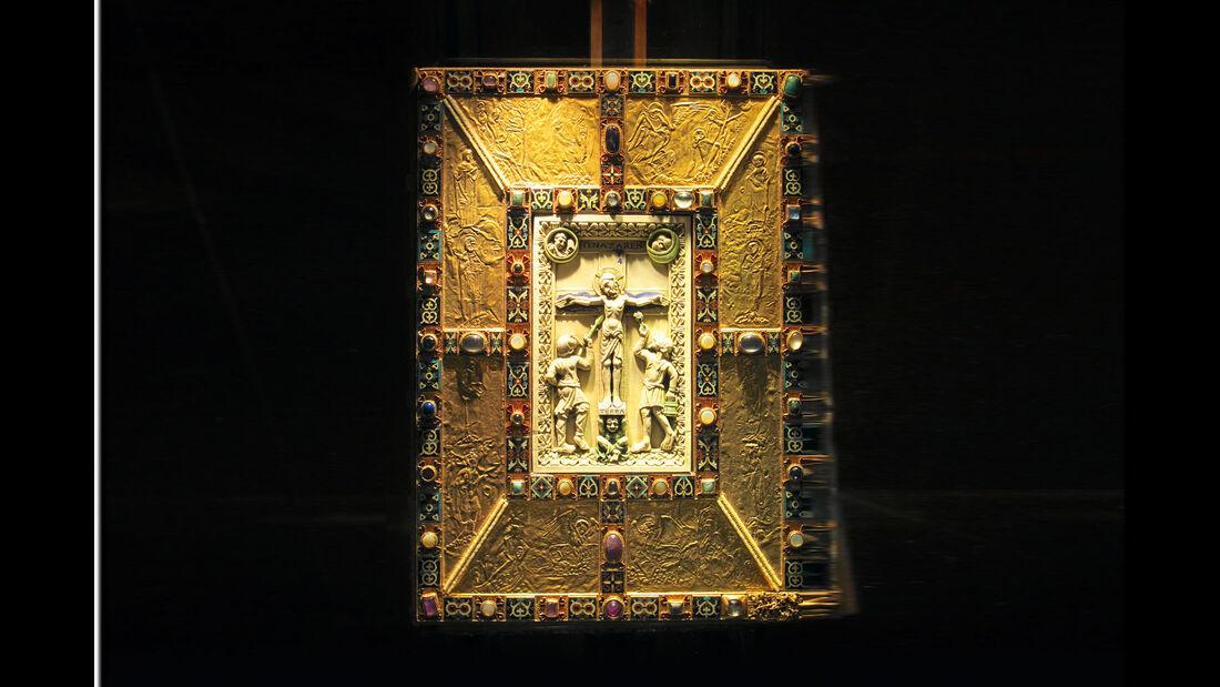 Deckel des berühmten Codex Aureus.