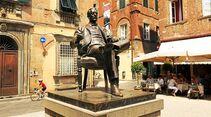 Denkmal von Giacomo Puccini in Lucca