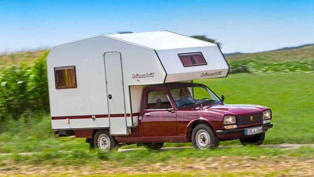 Der 504 war eines der erfolgreichsten Peugeot-Modelle und wurde als Cabrio ebenso hergestellt wie als Kombi, Coupé, Viertürer – und eben Pick-up.