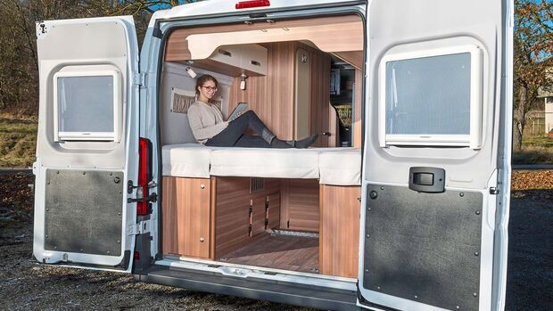 Der Carabus bietet je nach Bedarf beides. Der Umbau gelingt schnell und einfach.