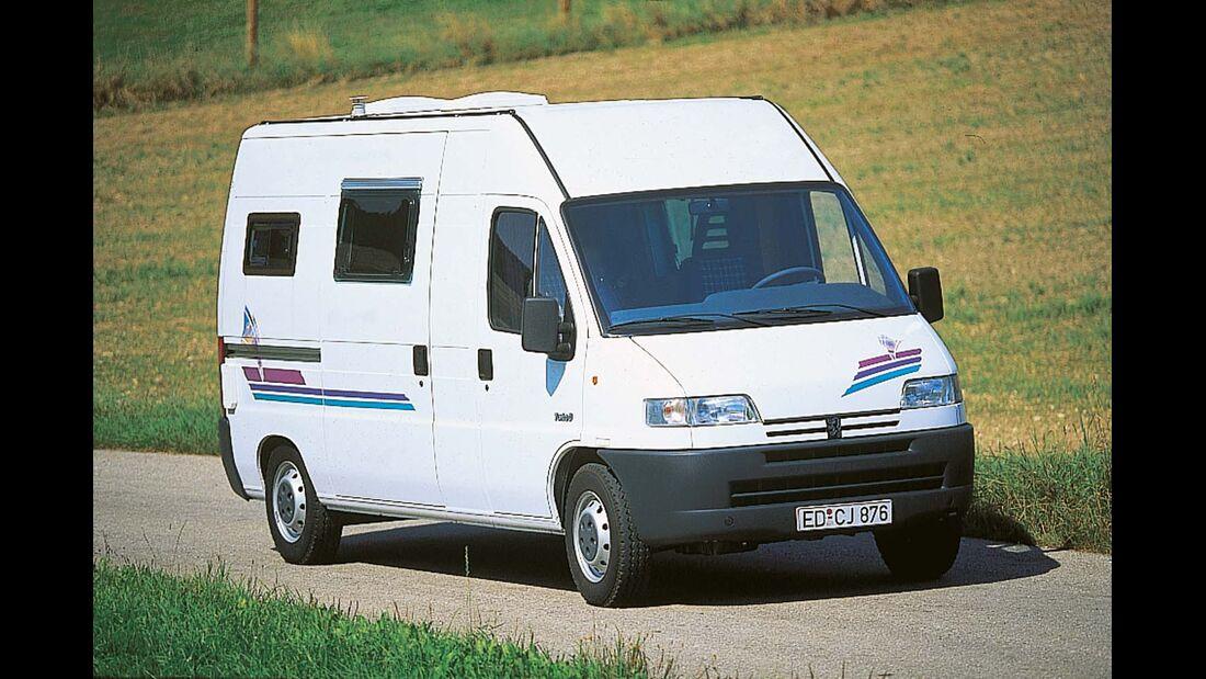 Der Duo-Van auf Peugeot-Basis war ein Grundstein für den Aufstieg der Marke.