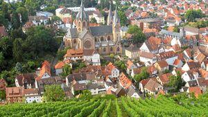 """Der Erlebnispfad """"Wein und Stein"""" mit insgesamt 70 Stationen eine Entdeckungsreise an."""