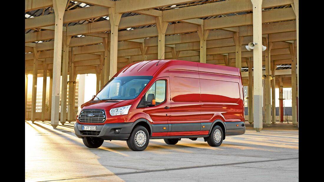 Der Ford Transit bekommt einen neuen Motor mit SCR-Technik.
