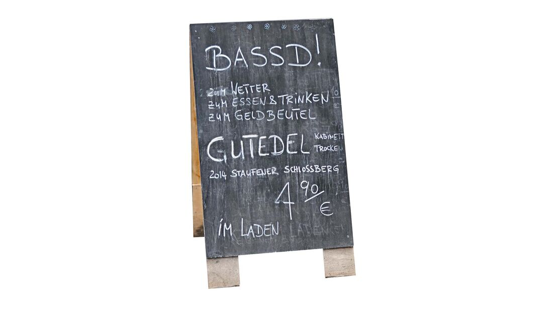 Der Gutedel gehört zu jenen süffigen Trinkweinen, die mit Recht als Markgräfler Spezialität bezeichnet werden können.