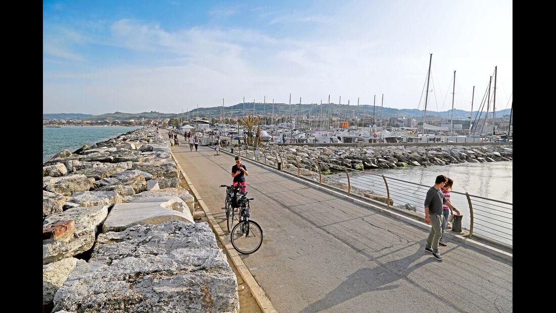 Der Hafen von San Benedetto del Tronto