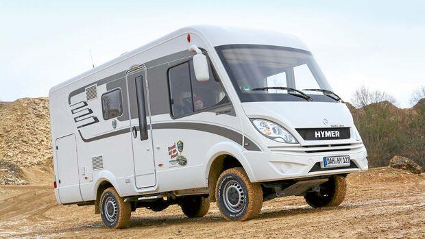 Der Hymer ML-I 540 mit Iglhaut Fahrwerk verbindet gewohnten Reisemobil-Komfort mit moderater Offroadtauglichkeit.