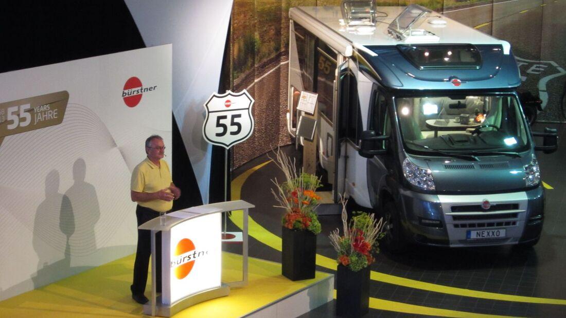 Der Kastenwagen City Car, die neue Ausstattungslinie fifty five und der erneuerte Viseo stehen im Mittelpunkt der Novitäten im Modellprogramm.