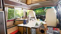 Der Malibu von 1988 bietet eine Küche mit Gaskocher