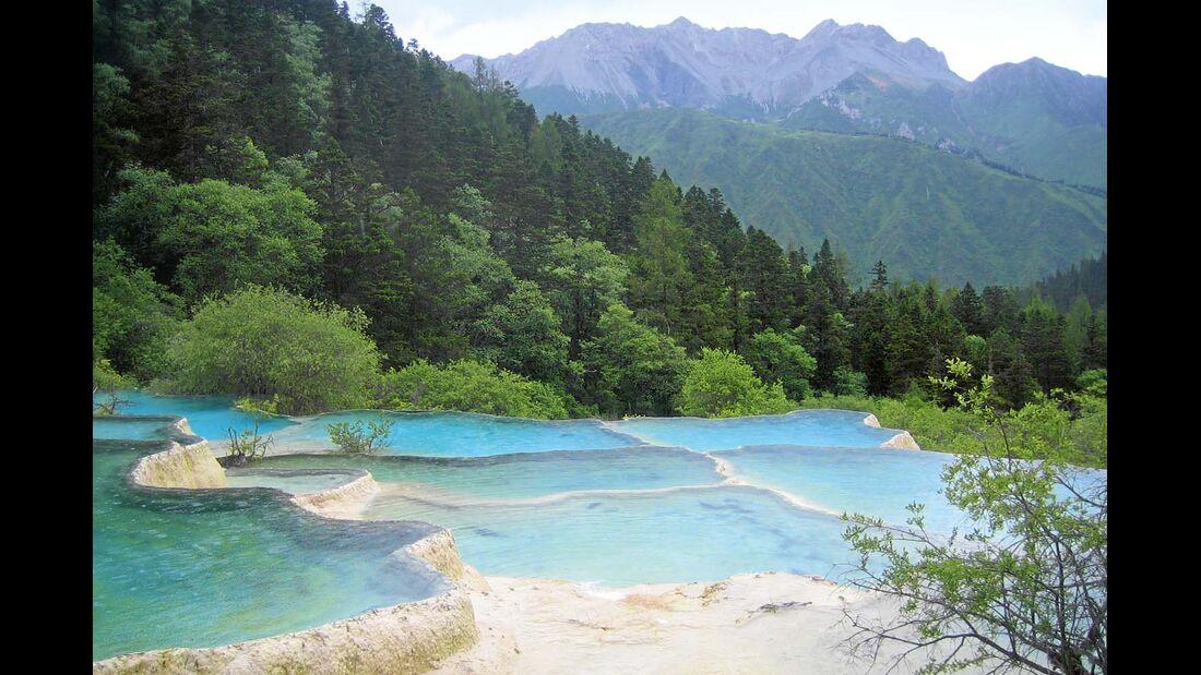 """Der Nationalpark """"Gelber Drache"""" in China"""