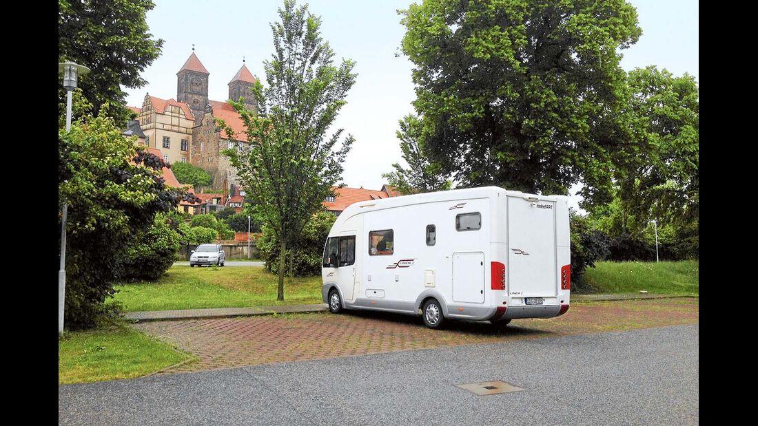 Der Parkplatz Wipertistraße am Schloss.