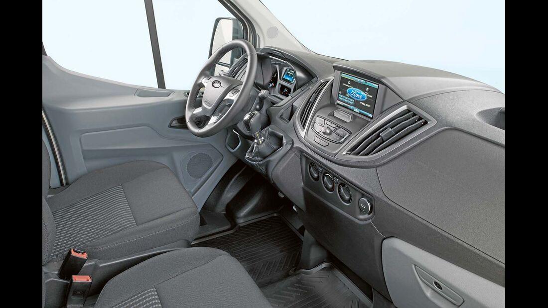 Der Transit bekommt das Infotainmentsystem Ford Sync 2.