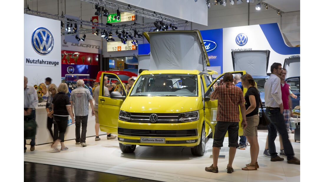 Der VW California Beach T6