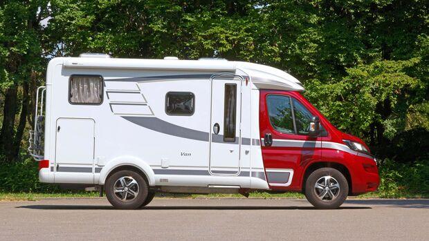 Der Van 374 wirkt sportlich-langgestreckt. Eine seiner Stärken ist das quirlig-leichtfüßige Fahrgefühl.