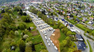 Der ganz neue Reisemobilpark Urbachtal.