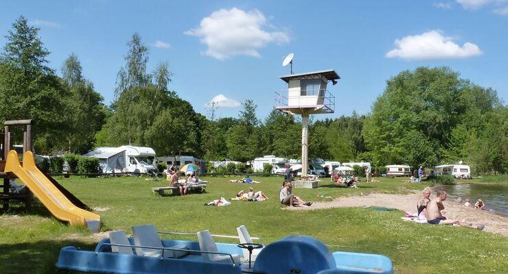 Der mecklenburgische Campingpark Zuruf in Plau am See wurde vom ADAC für Sanitäranlagen und Standplätze ausgezeichnet.