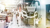 Der neue Anbau ermöglicht es, dass in Zukunft 400 Reisemobile entstehen können.