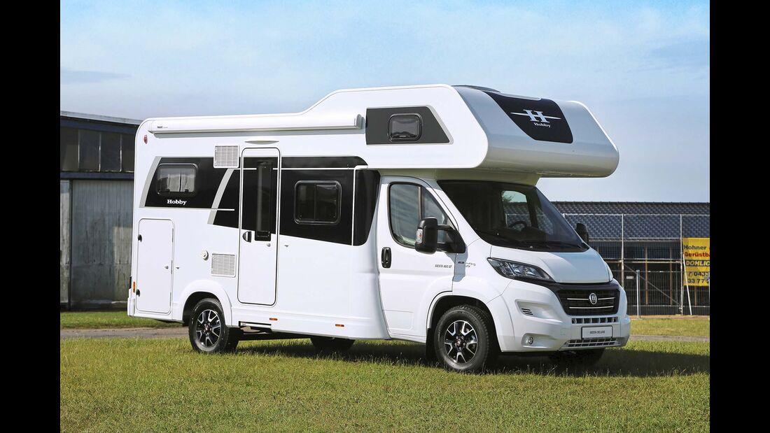 Der neue Siesta A60 GF hat trotz kompakter Maße vier vollwertige Schlafplätze an Bord.