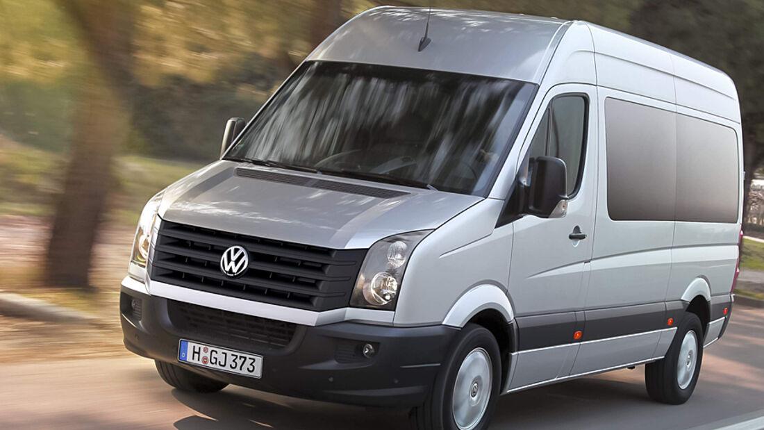 Der neue VW Crafter: geringerer Verbrauch und Unterhaltskosten