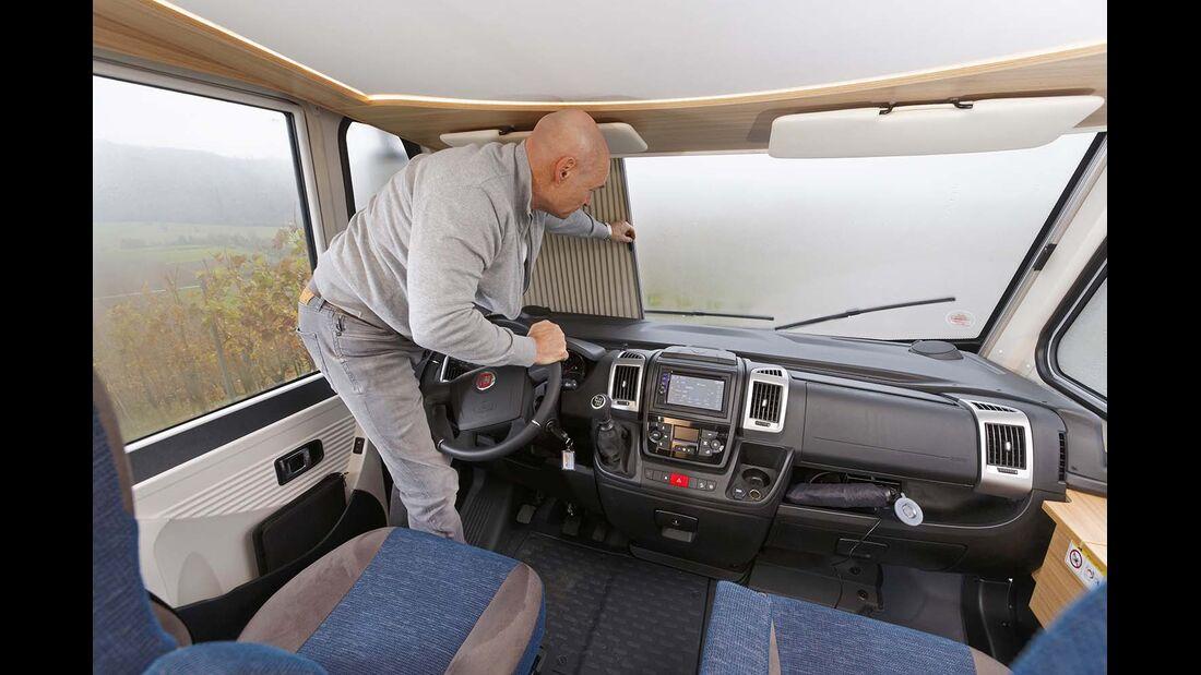 Dethleffs Globebus I Fahrerhaus
