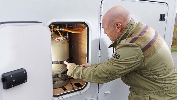 Dethleffs Globebus I Gaskasten