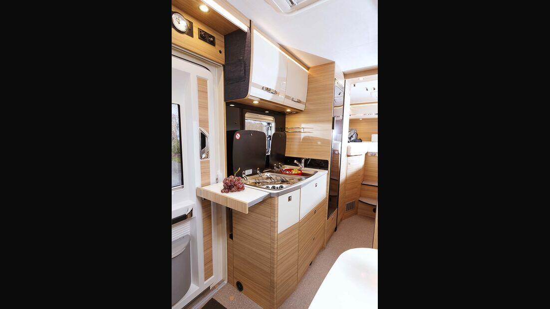 Dethleffs Globebus I Küche