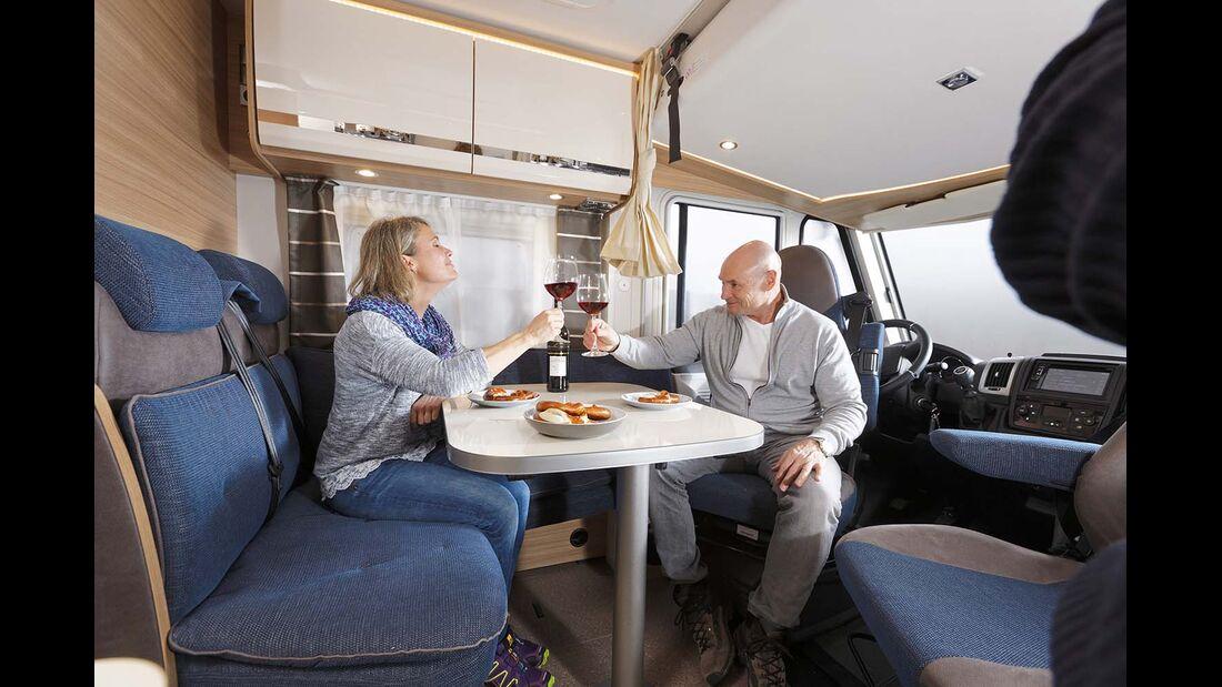 Dethleffs Globebus I Sitzgruppe