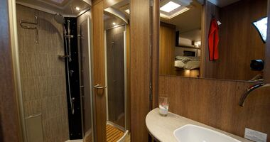 Dethleffs Grand Alpa Plus - Badezimmer