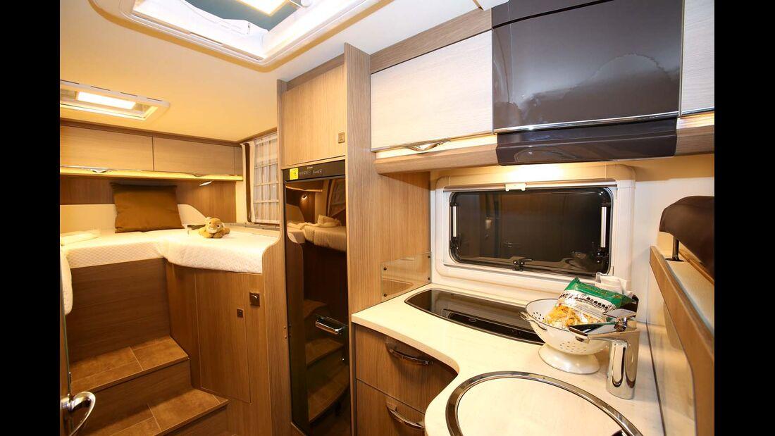 Dethleffs-Variante 4-Travel: T 7116-4 mit Einzelbetten.