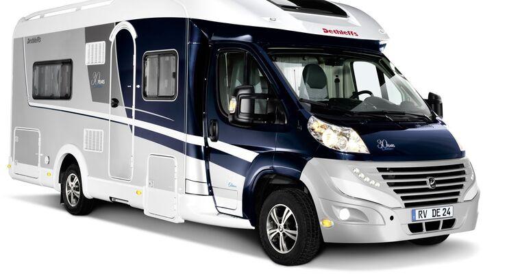 Dethleffs feiert 30 Jahre Reisemobilbau. Eigens für dieses Jubiläum hat der Allgäuer Hersteller die 30 Years Edition kreiert.