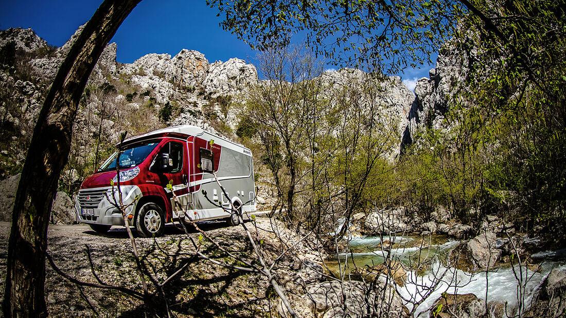 Dethleffs und Movera unterstützen eine 23-wöchige Abenteuerreise von Deutschland nach Kirgistan - ein Reiseblog informiert.