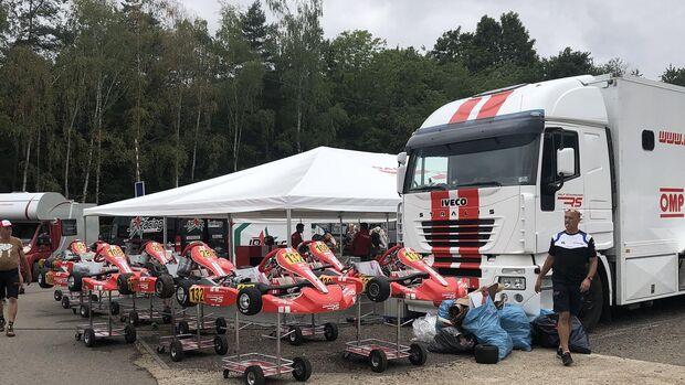 Deutsche Kartmeisterschaft in Kerpen 2019