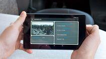 Die App soll in der Zukunft Informationen über leere Stellplätze liefern.