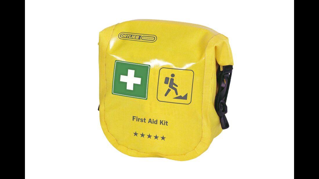 """Die Erste-Hilfe-Tasche """"Mountain und Trekking"""" kostet  50 Euro."""