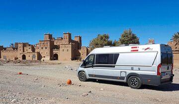 Die Festungen in Marokko, auch Kasbah genannt, sind eine der Attraktionen des Landes, eine der schönsten ist Ameridill.