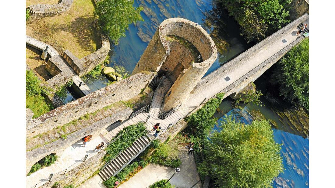 Die Festungsanlagen stammen aus dem 17. Jahrhundert.
