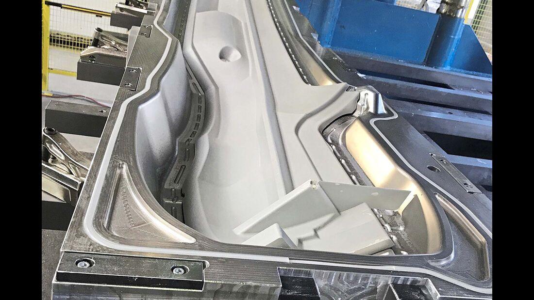 Die Frametechnologie erlaubt auch größere Freiheiten bei der äußeren Formgebung.