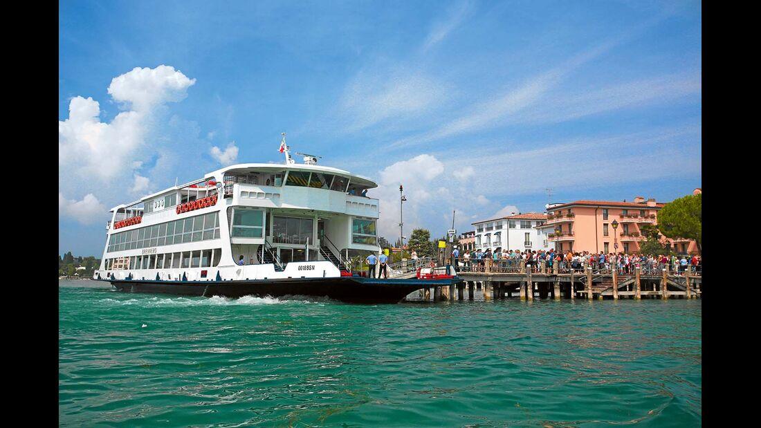 Die Gardasee Welcome Card kann Ersparnisse von bis zu 50 Prozent ermöglichen.