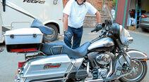 Die Harley-Davidson gehoert zum American Way of Life einfach dazu.