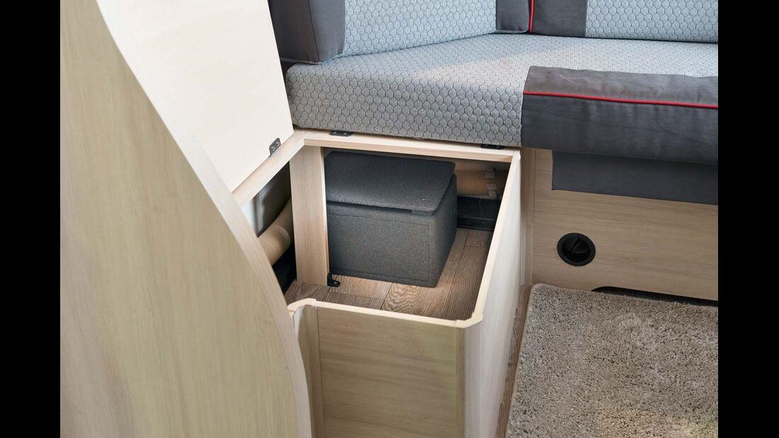 Die Lautsprecher im Bettbereich sitzen idealerweise auch an den Ecken von Bad und Küche.