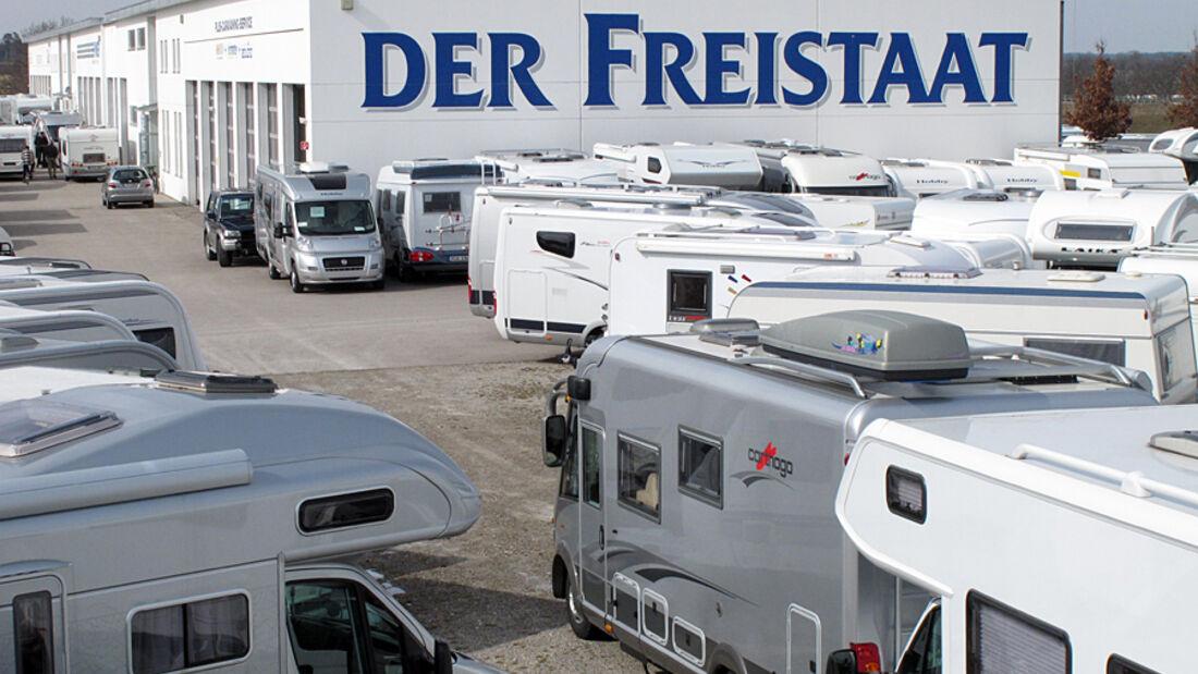 Die Mega/Caravaning/Woche (M/C/W) im Freistaat Sulzemoos vom 23. Februar bis zum 6. März 2011 ist ein Event