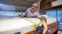 Die Menschen werden größer – und die Betten?
