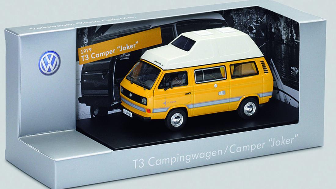 Die Modellauto-Edition Volkswagen Classic Cars wurde jetzt um insgesamt zwölf Miniaturen erweitert