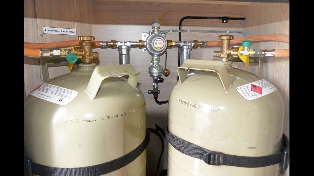 Die Nachrüstung eines GASFILTERS schützt vor verschmutztem Gas.