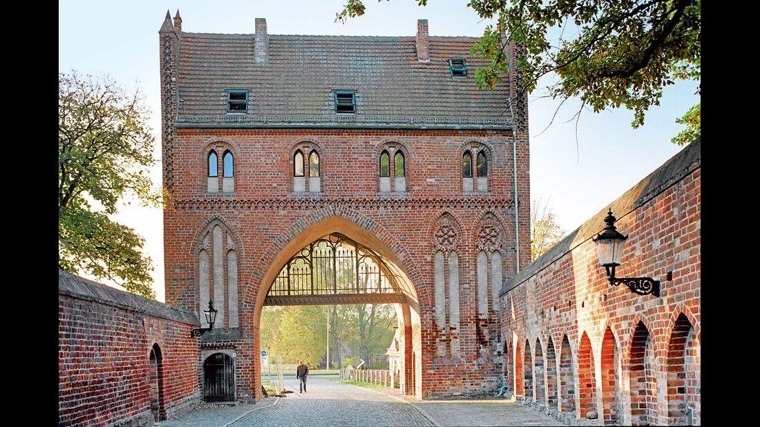 Die Neubrandenburger Marienkirche zählt zu den bedeutendsten Werken der Backsteingotik.