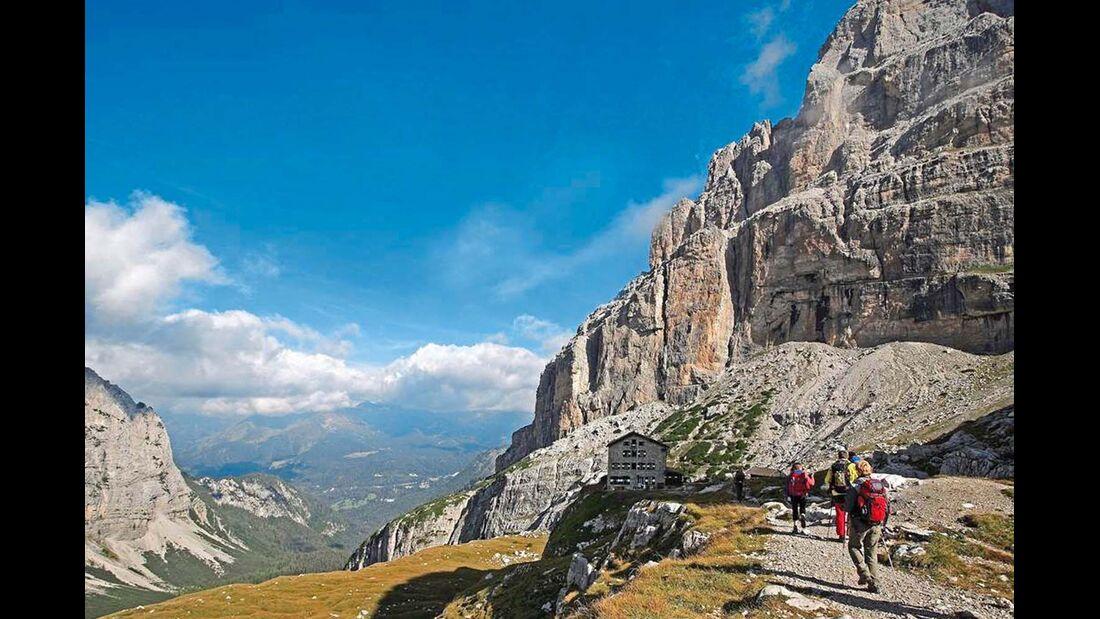Die Region bietet Wanderrouten für Anfänger und für erfahrene Alpinisten.