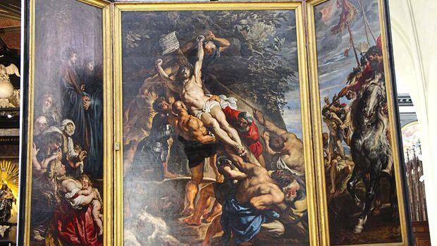 Die Spuren von Rubens sind in Antwerpen allgegenwärtig.