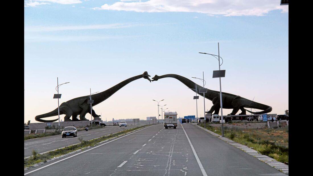 Die Stadt der Dinosaurier.
